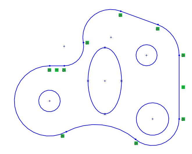 Complex Sketch Profile