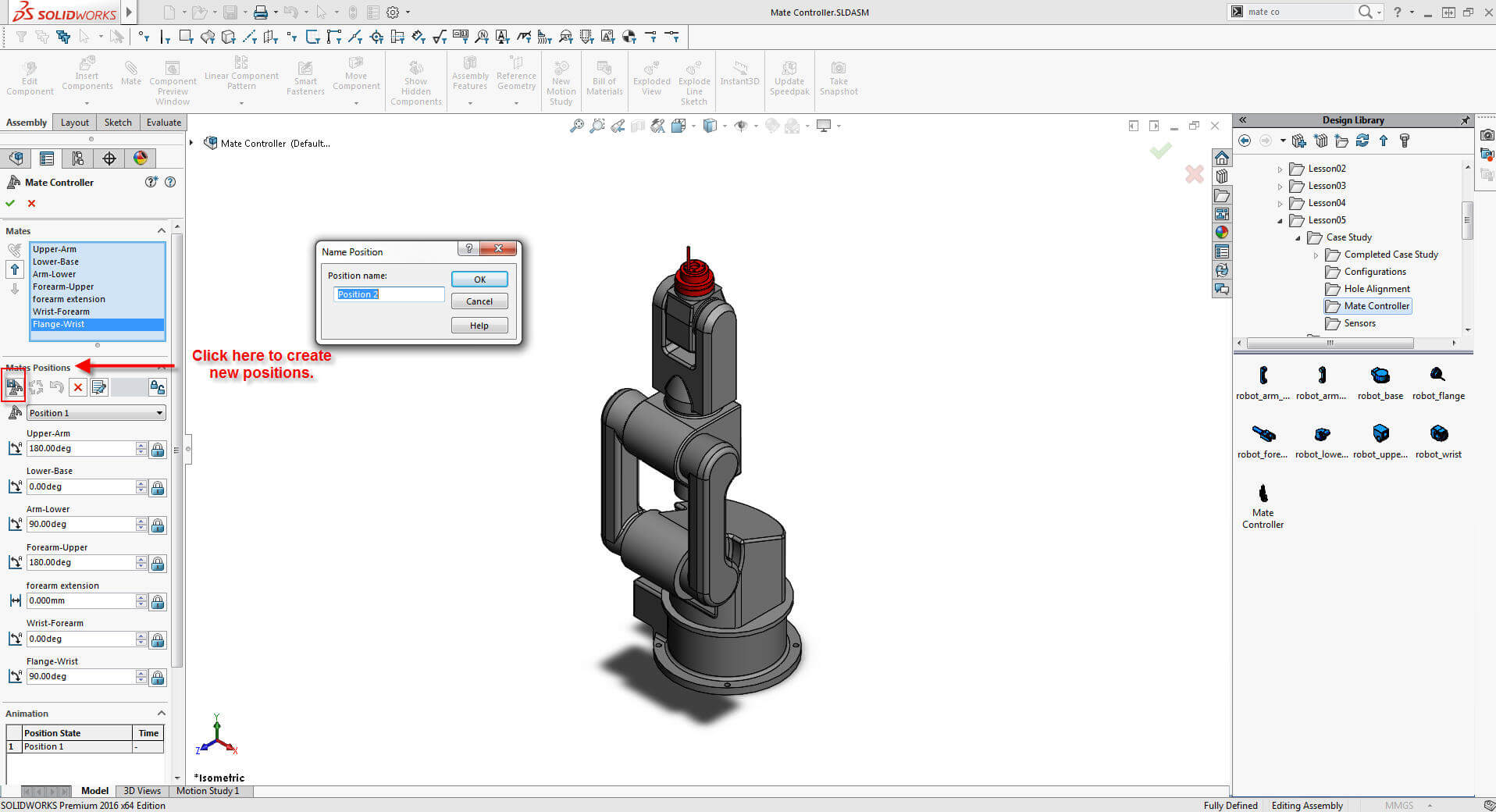 SOLIDWORKS Mate Controller