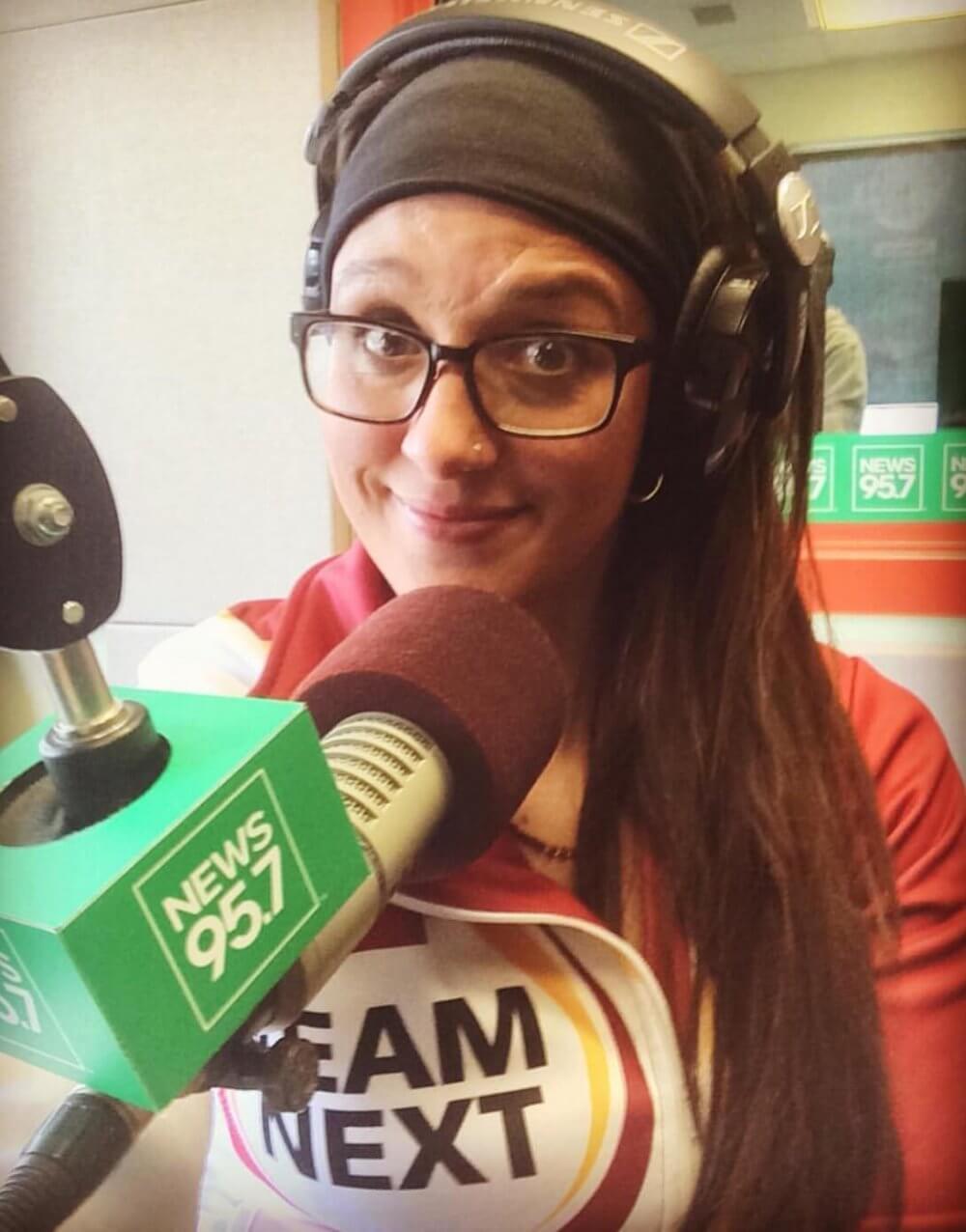 Pam radio interview