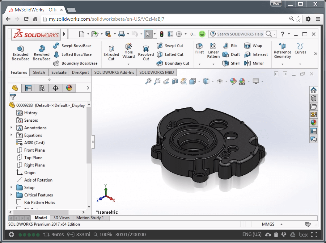 SOLIDWORKS Online  Beta Trial Through MySolidWorks - Solidworks electrical schematic serial number