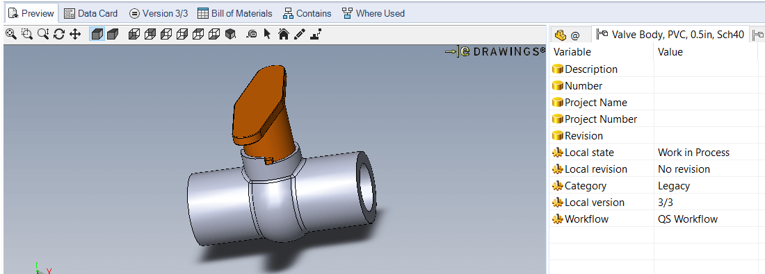 SOLIDWORKS PDM 2017 Preview
