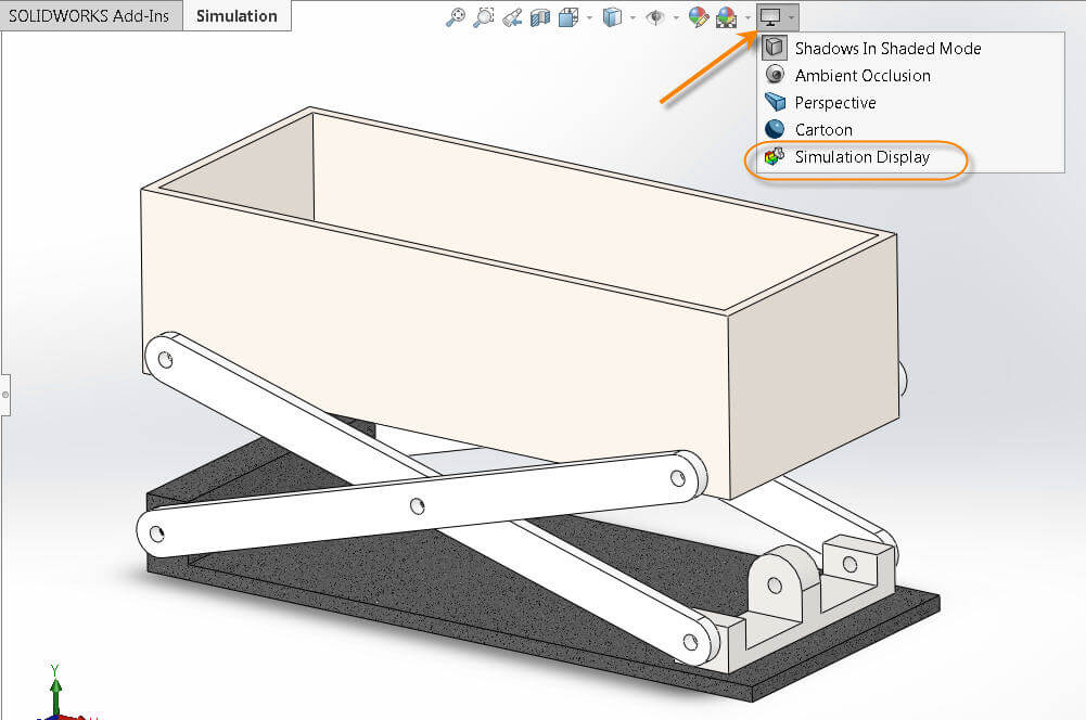 SOLIDWORKS Display Option