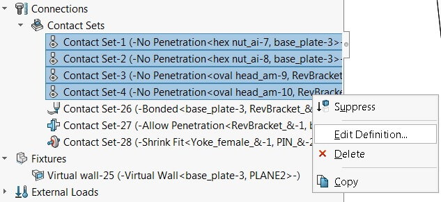 Edit Multiple Contact Sets of the same definition