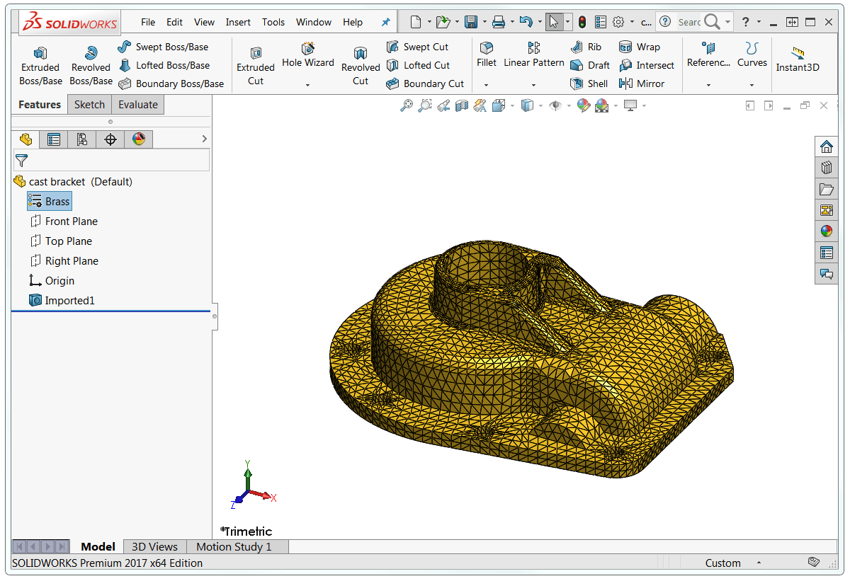 Imported Mesh File