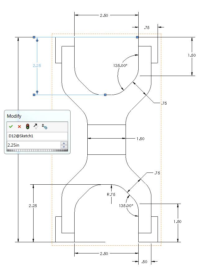 Linked dimensions reestablished