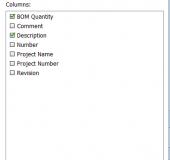 SOLIDWORKS PDM Custom Columns