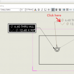 How to Combine SOLIDWORKS Hole Callouts – Part 2