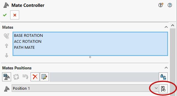 Mate Controller Configurations