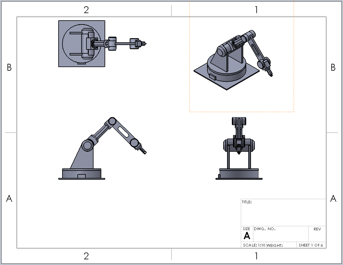 SOLIDWORKS 2017 Crop & Detail Drawing View Jagged Outline Option