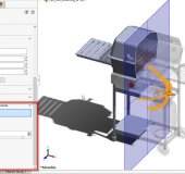 SOLIDWORKS Transparent Section View