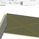Inserting a 3D Cross-Break in SOLIDWORKS