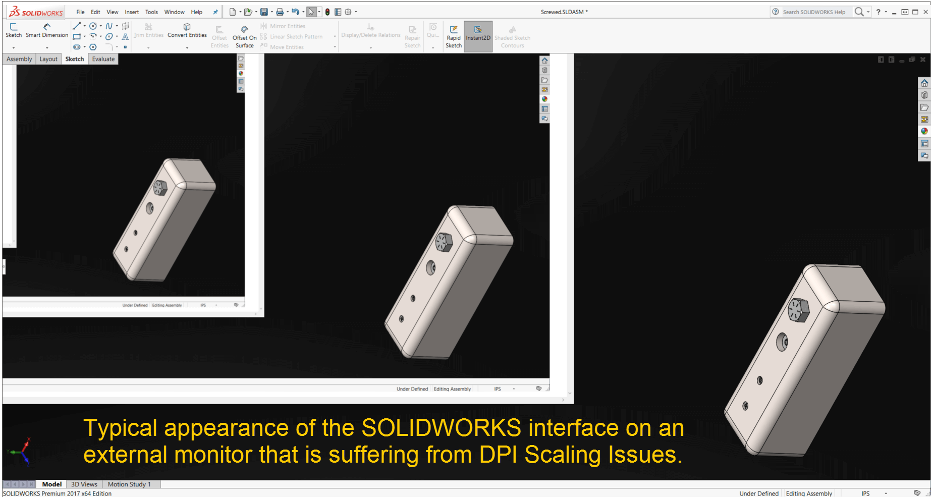 When to turn on 'Use Software OpenGL' in SOLIDWORKS?