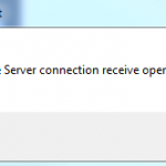 'The Archive Server connection receive operation timed out' SOLIDWORKS PDM Error