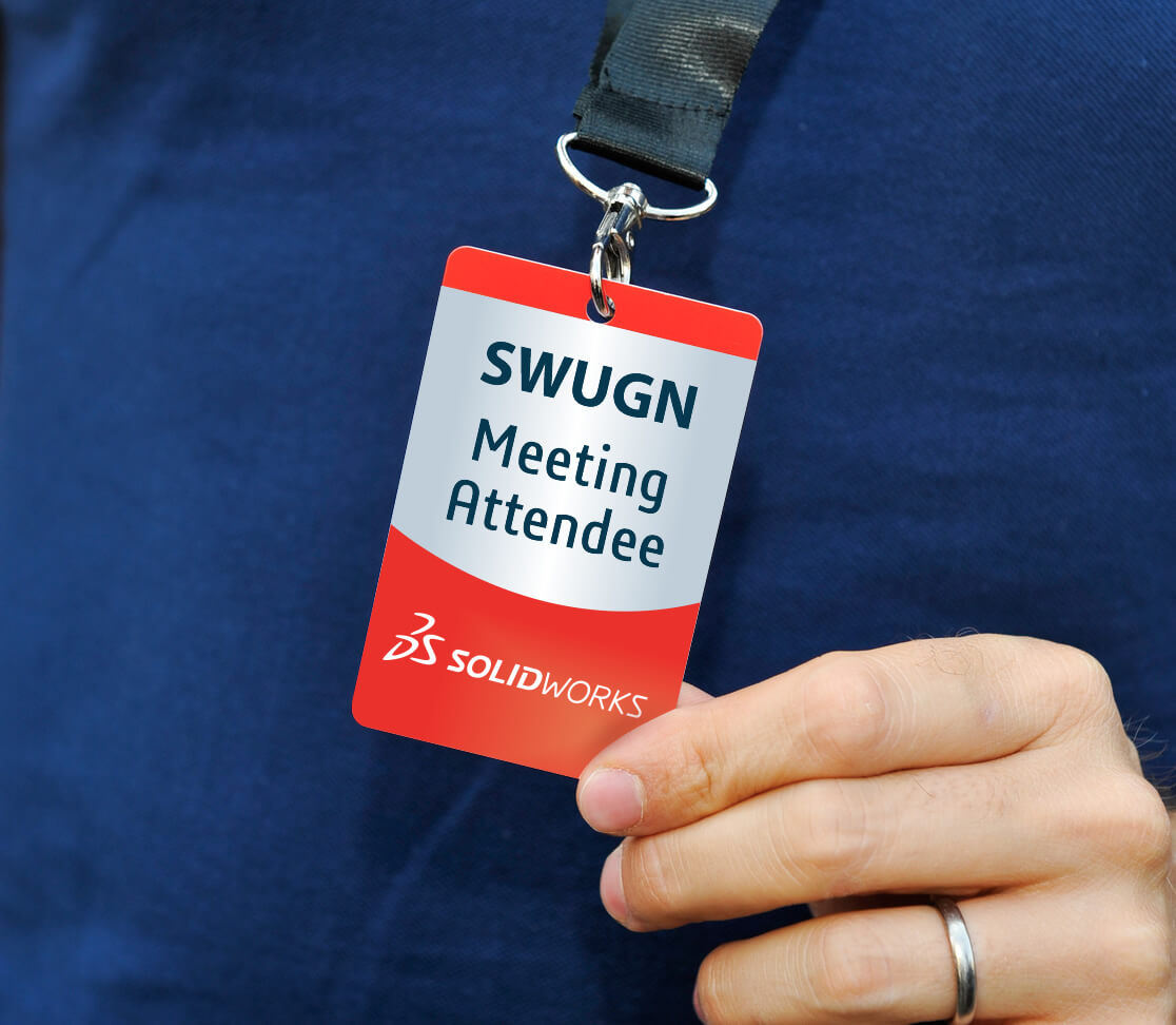 SWUGN Meeting Attendee Badge