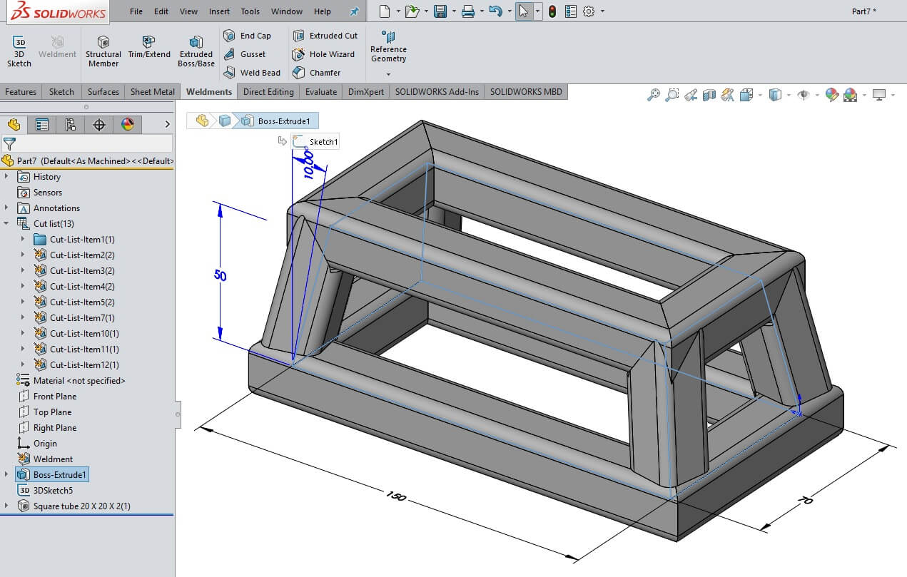 Solid Model As Reference Geometry For A Solidworks