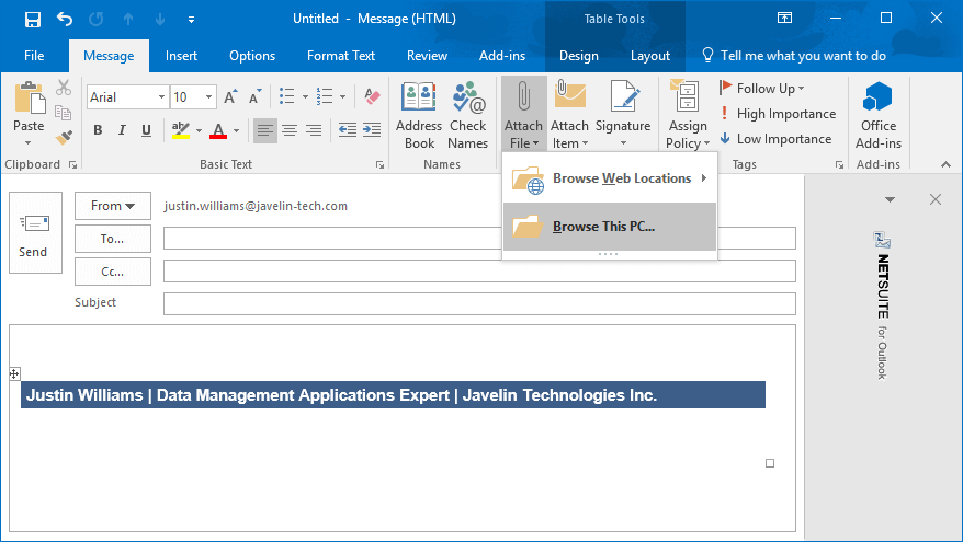 How to disable the Outlook SOLIDWORKS PDM Login when