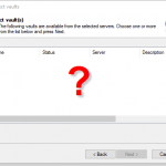 SOLIDWORKS PDM Professional Vault is missing on new client?