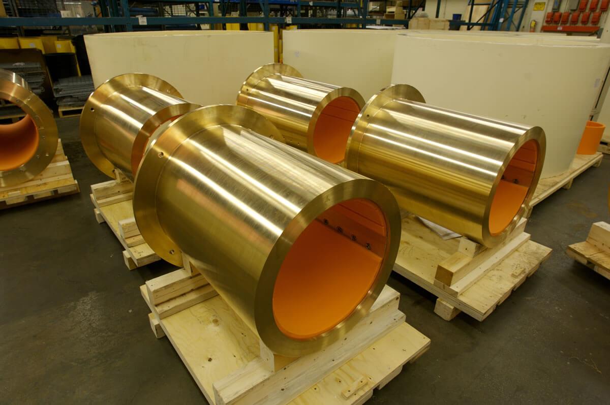 Thordon COMPAC seawater lubricated bearings