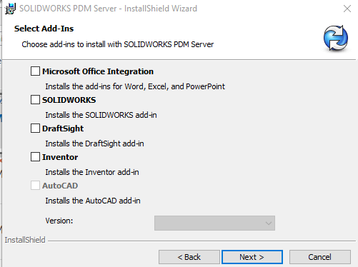 How to Install SOLIDWORKS PDM Server Components Manually