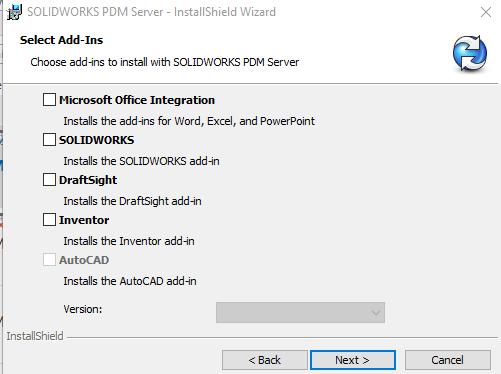 Installing Add-ins