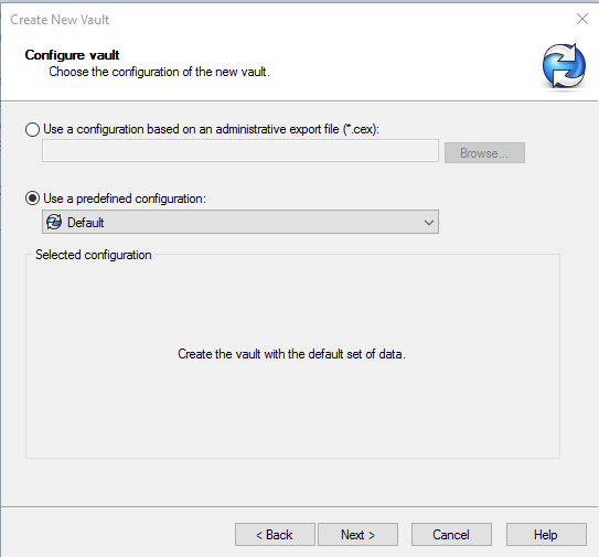 Creating a new Vault using a SOLIDWORKS PDM Administrative Image