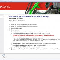 Installing SOLIDWORKS Workgroup PDM Server