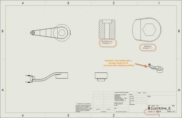 Section/Detail views have SOLIDWORKS Scale Label