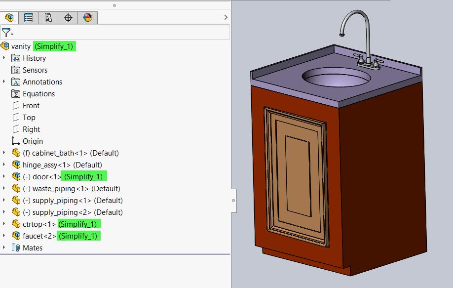 Simplify Configurations