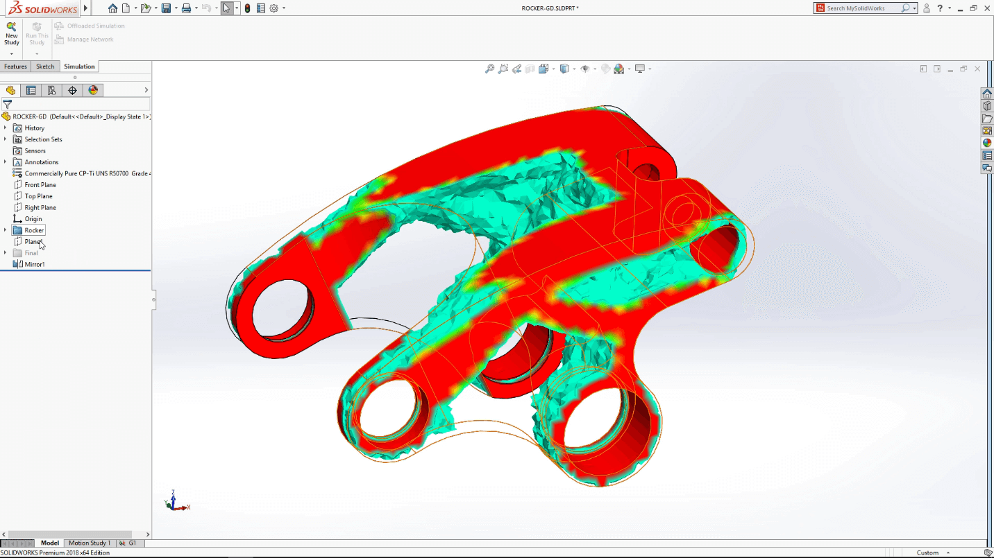 SOLIDWORKS 2018 Preview shown at SOLIDWORKS World 2017
