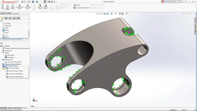 SOLIDWORKS 2018 Manufacturing Controls