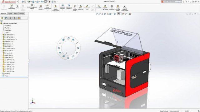 SOLIDWORKS 2018 12 Mouse Gestures now available