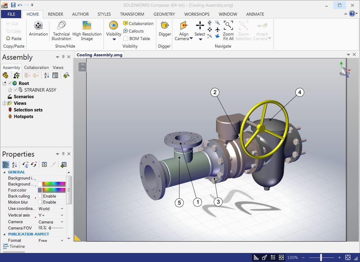 SOLIDWORKS Composer Getting Started