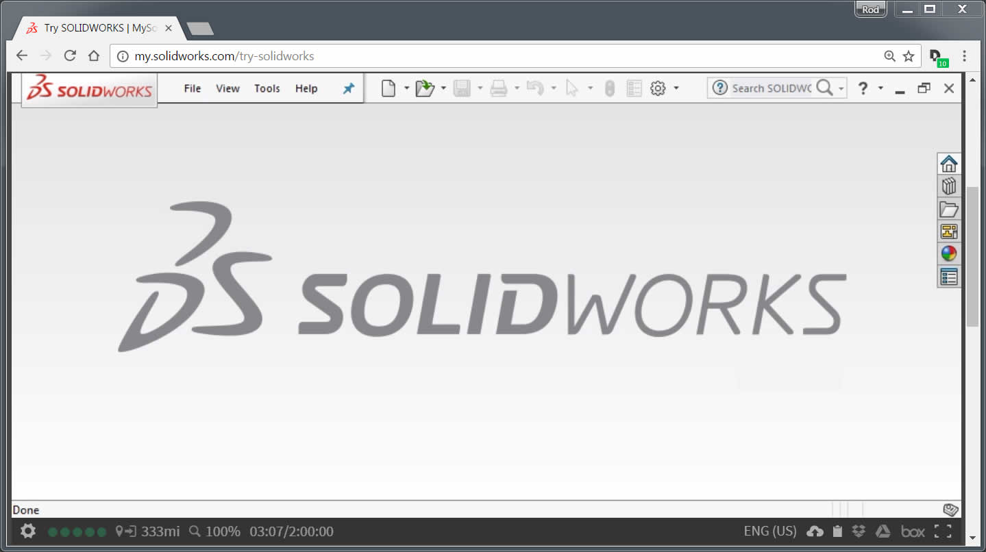 SOLIDWORKS Online Edition