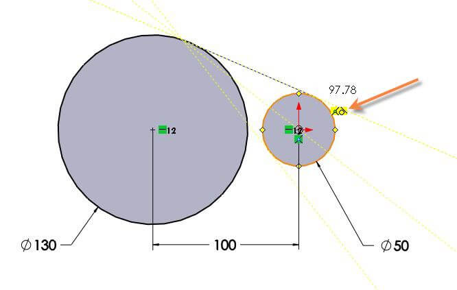 How To Automatically Add Solidworks Tangent Relation From