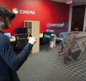 Hololens with SOLIDWORKS model hologram