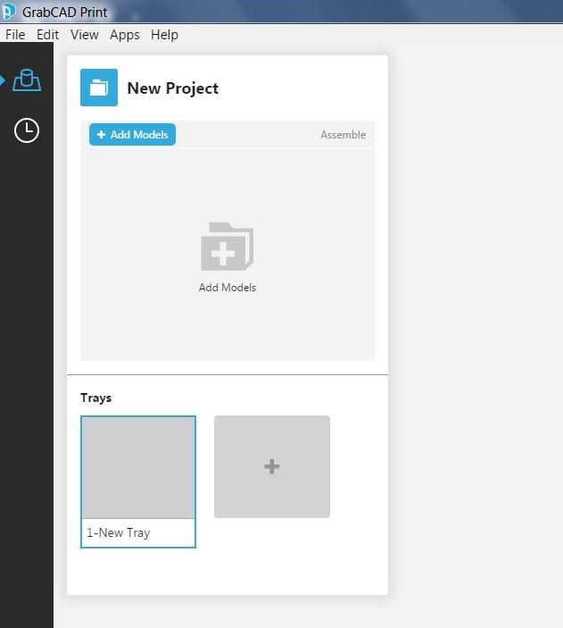 GrabCAD Print Project