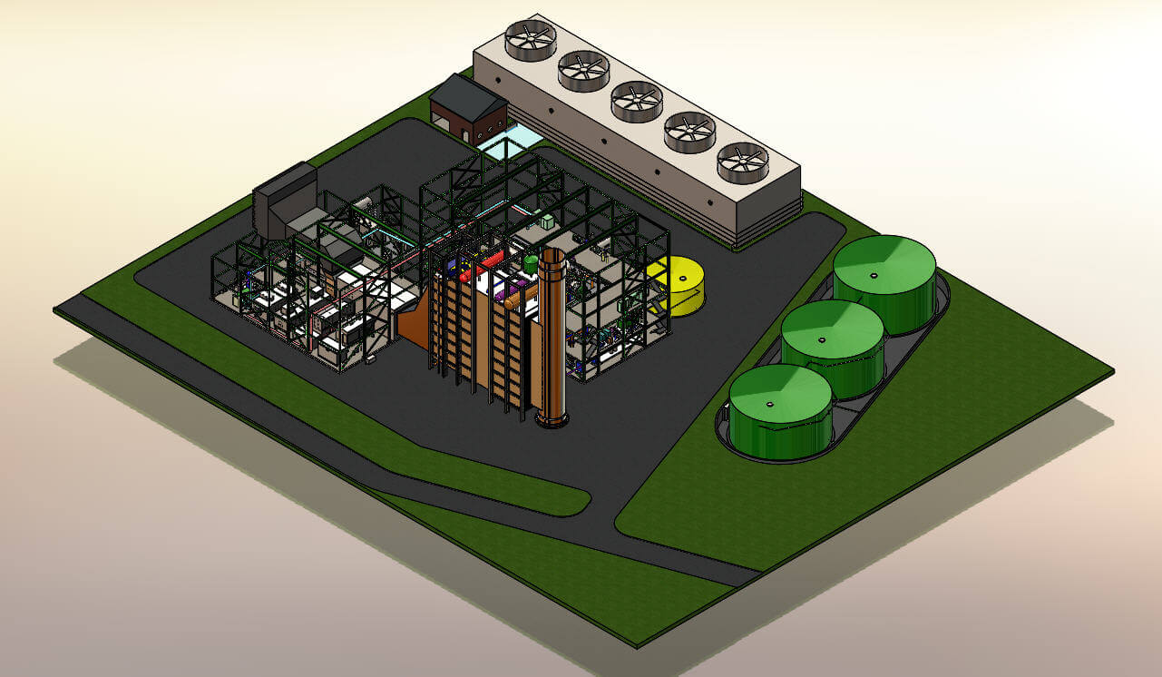 SOLIDWORKS Plant Layout