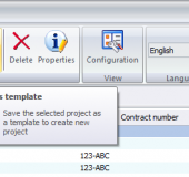 how to change project name in solidworks pdm