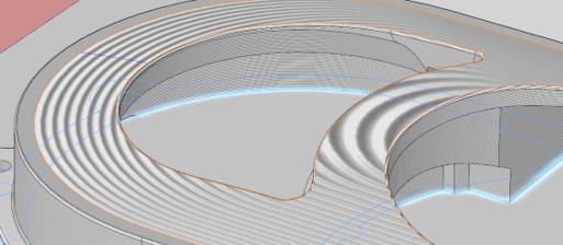 Part optimization and surface visualization