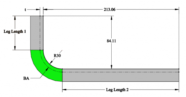 Calculating Bend Allowance, Bend Deduction, and K-Factor