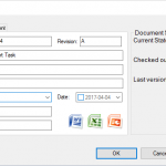 SOLIDWORKS PDM Task Input Card