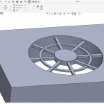 The SOLIDWORKS Vent Feature is not just for Sheet Metal