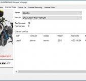 SOLIDWORKS SolidNetWork License Manager