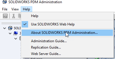 Accessing PDM Options in SOLIDWORKS