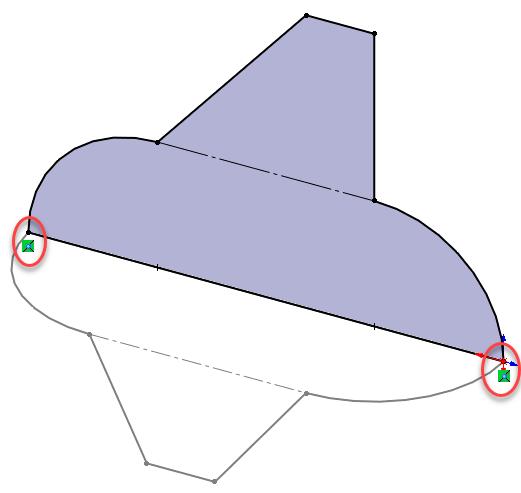SOLIDWORKS derived sketches