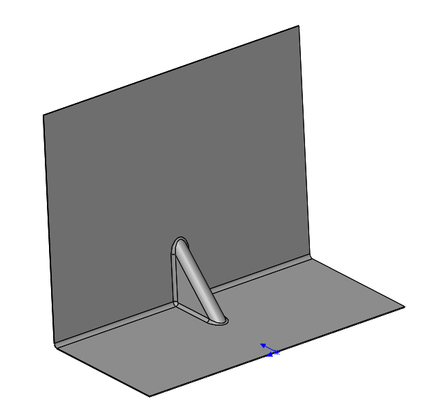 Solidworks Sheet Metal Gusset Tool For Adding Gussets To