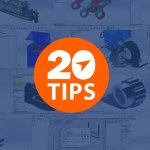 The Top 20 SOLIDWORKS Tech Tips of all time posted on the Javelin blog