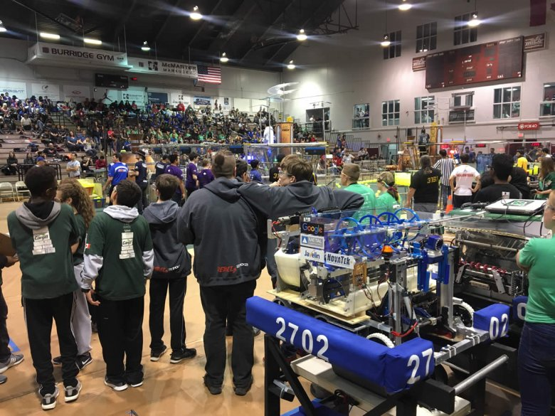 Javelin sponsored Robotics Team
