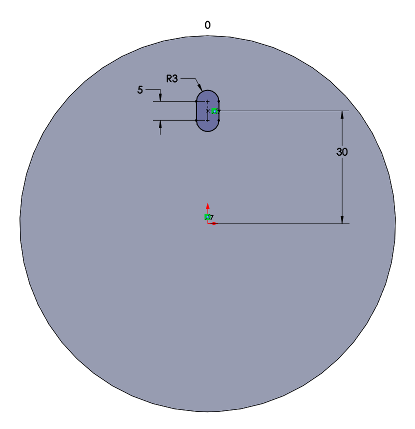 how to cut a profile cylinder solidworks