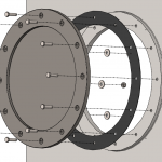 Save time by using a SOLIDWORKS Hole Series in your assemblies!